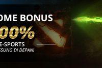 Bonus New Member 100% Khusus E-Sports Langsung Didepan!!!