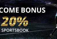 Bonus New Member 20% Sportsbook Langsung Didepan