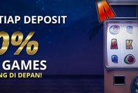 Bonus Setiap Deposit 20% Slots Games Langsung didepan!!!