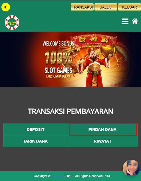 Panduan Permainan GP Casino Visitorbet Versi Mobile