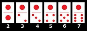 Contoh Seri Domino kartu 1
