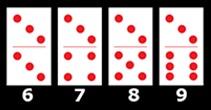 Contoh Seri Domino kartu 3